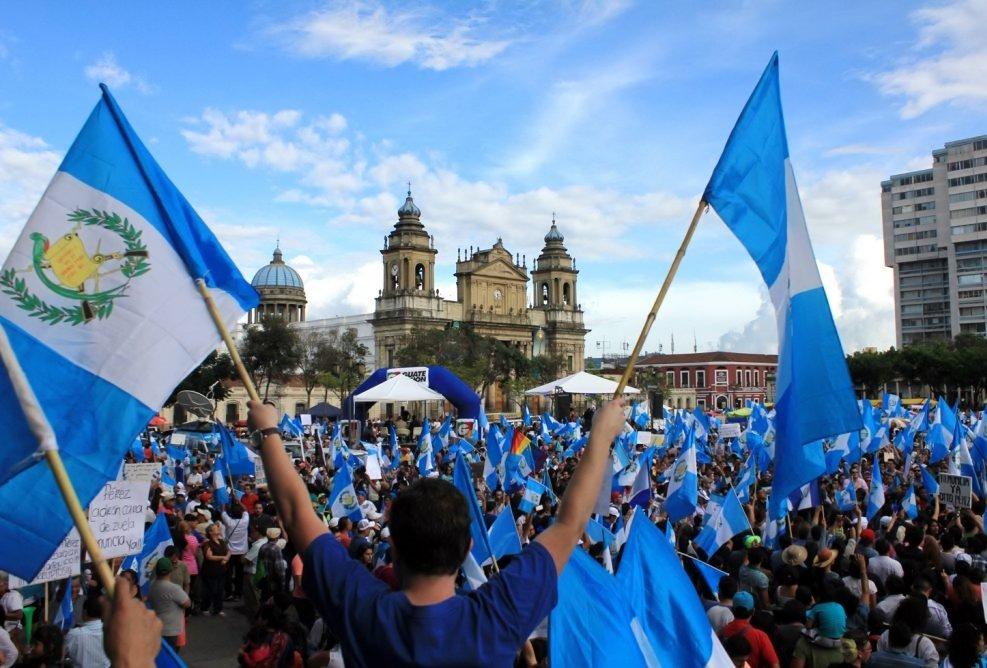 historia de la democracia en Guatemala