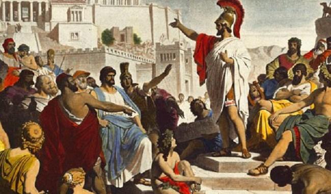 democracia en la antigüedad