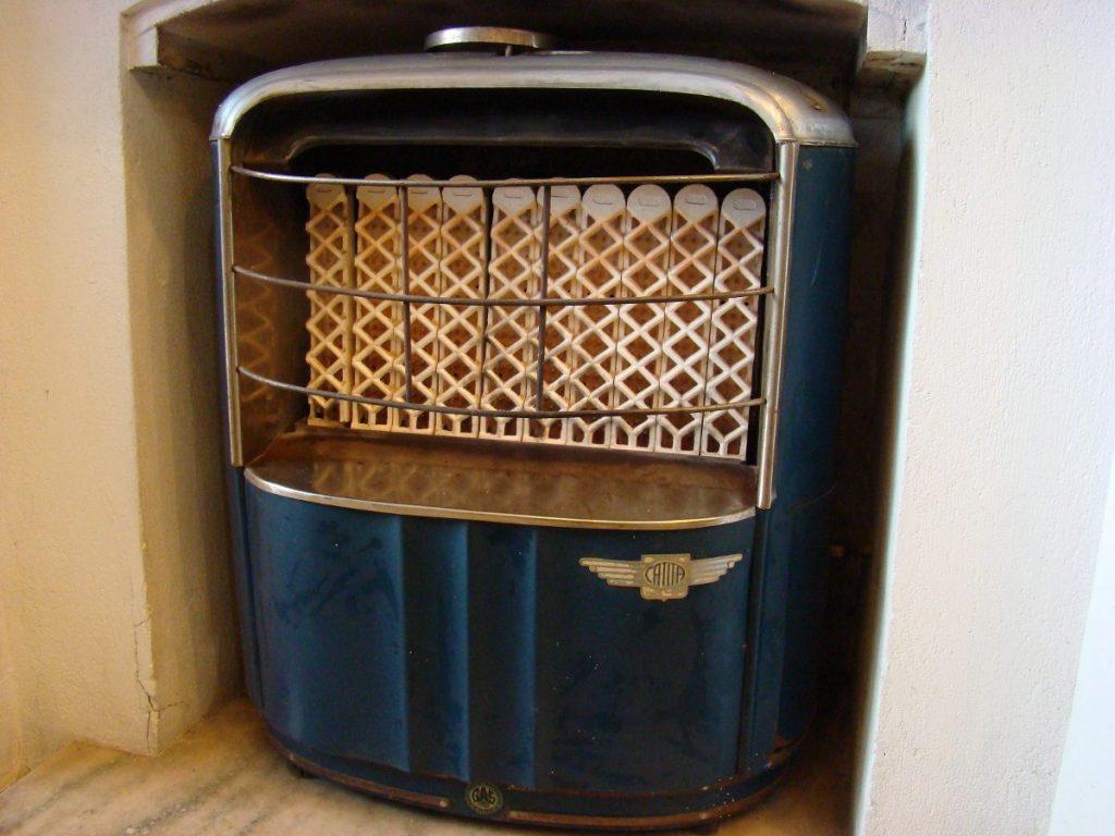 historia de la estufa