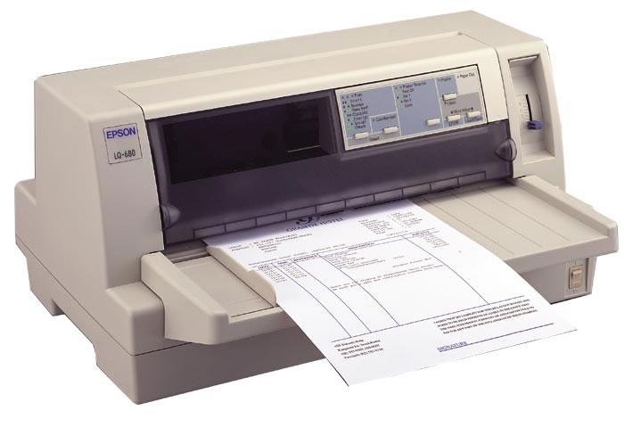 impresoras de aguja