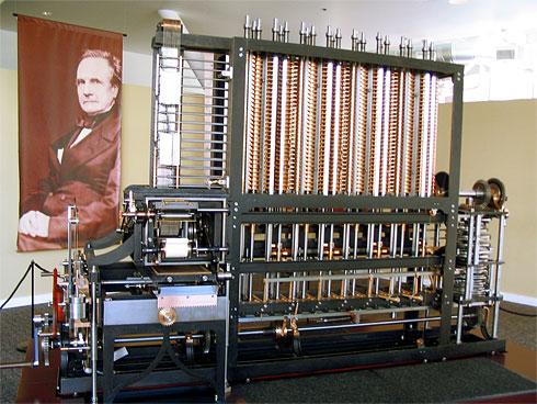 impresora de Charles Babbage