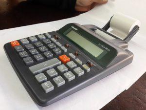 calculadoras con impresoras