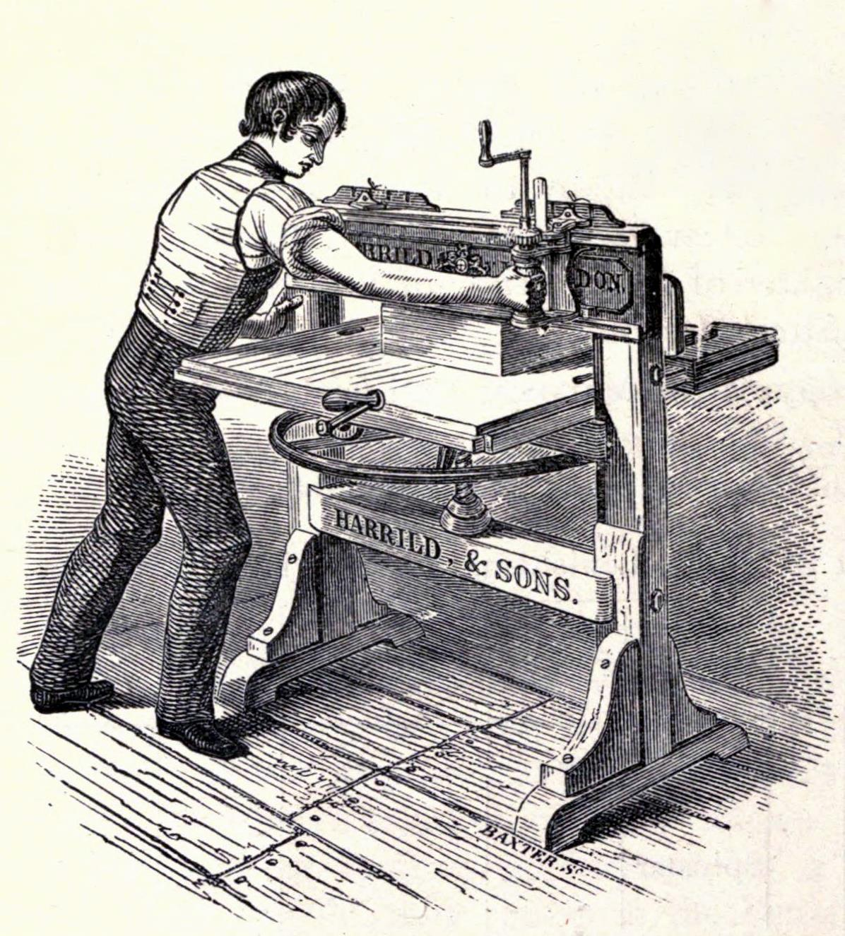 impresoras en la historia