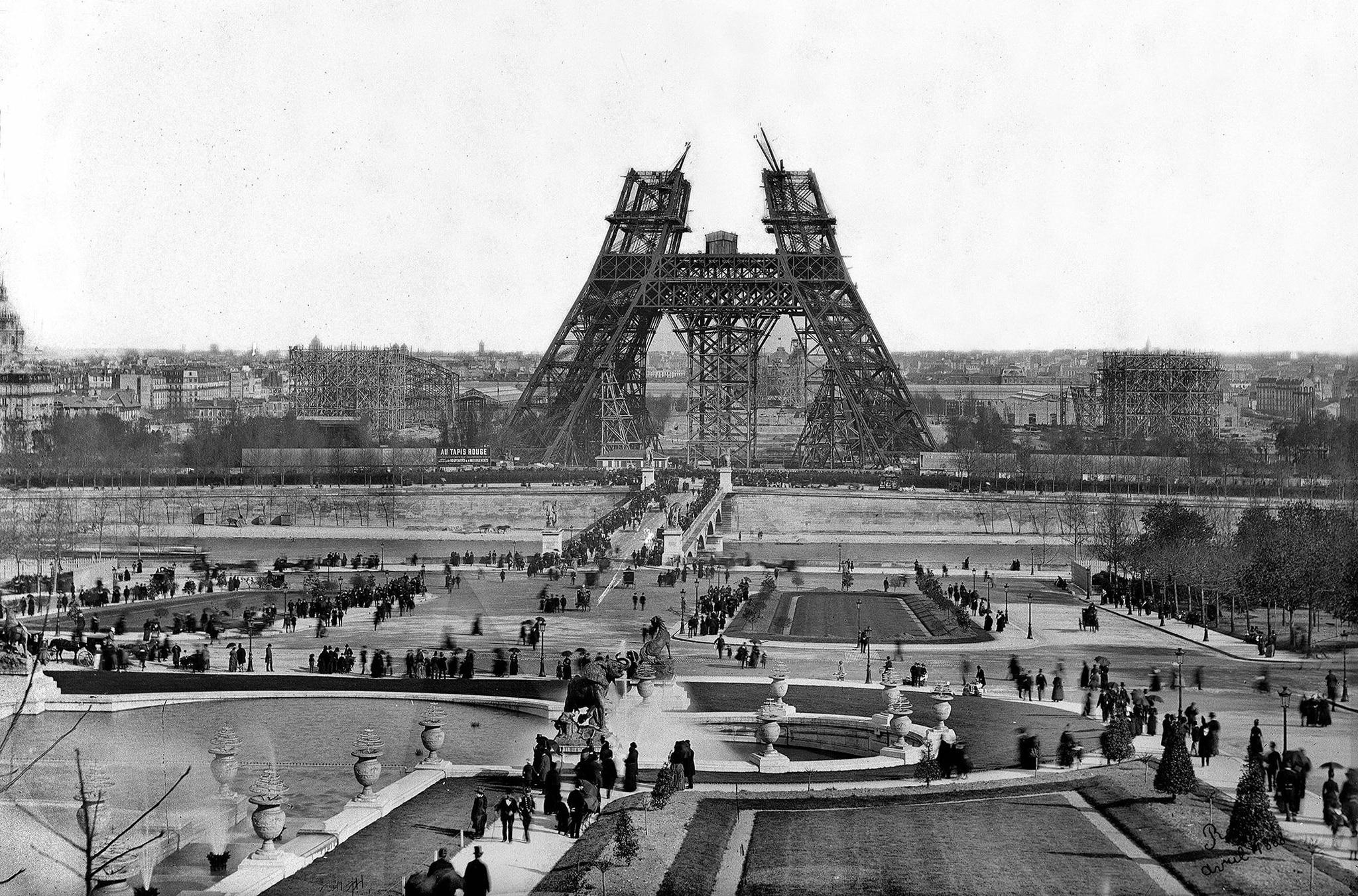 Historia de la Torre Eiffel