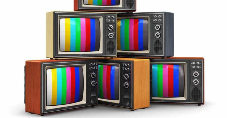 historia de los medios de comunicación television