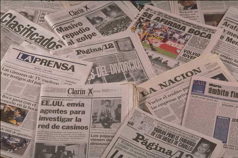 historia de los medios de comuniación en Argentina