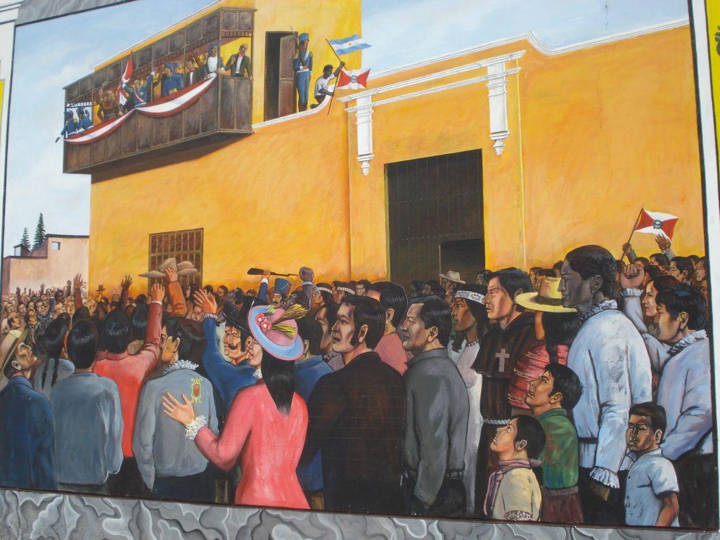 historia del perú, rebelión