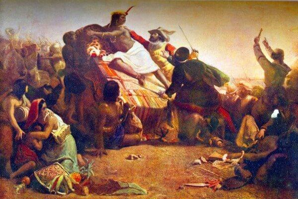 historia del perú, conquista