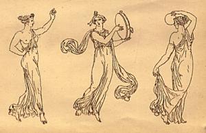 la historia de la danza en la antigua Grecia