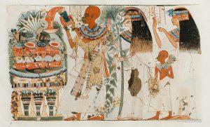 la historia de la danza en Egipto