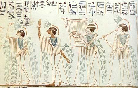 las danzas en el antiguo Egipto