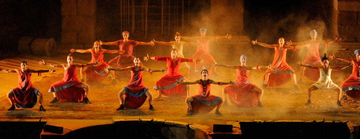 la danza como espectáculo