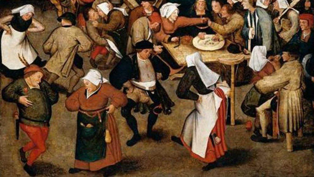 historia de la danza en la edad media
