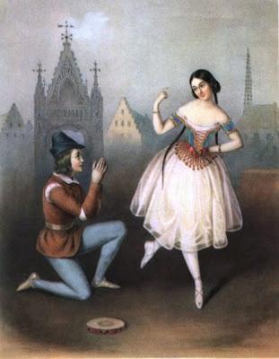 la hiistoria de la danza en el romanticismo