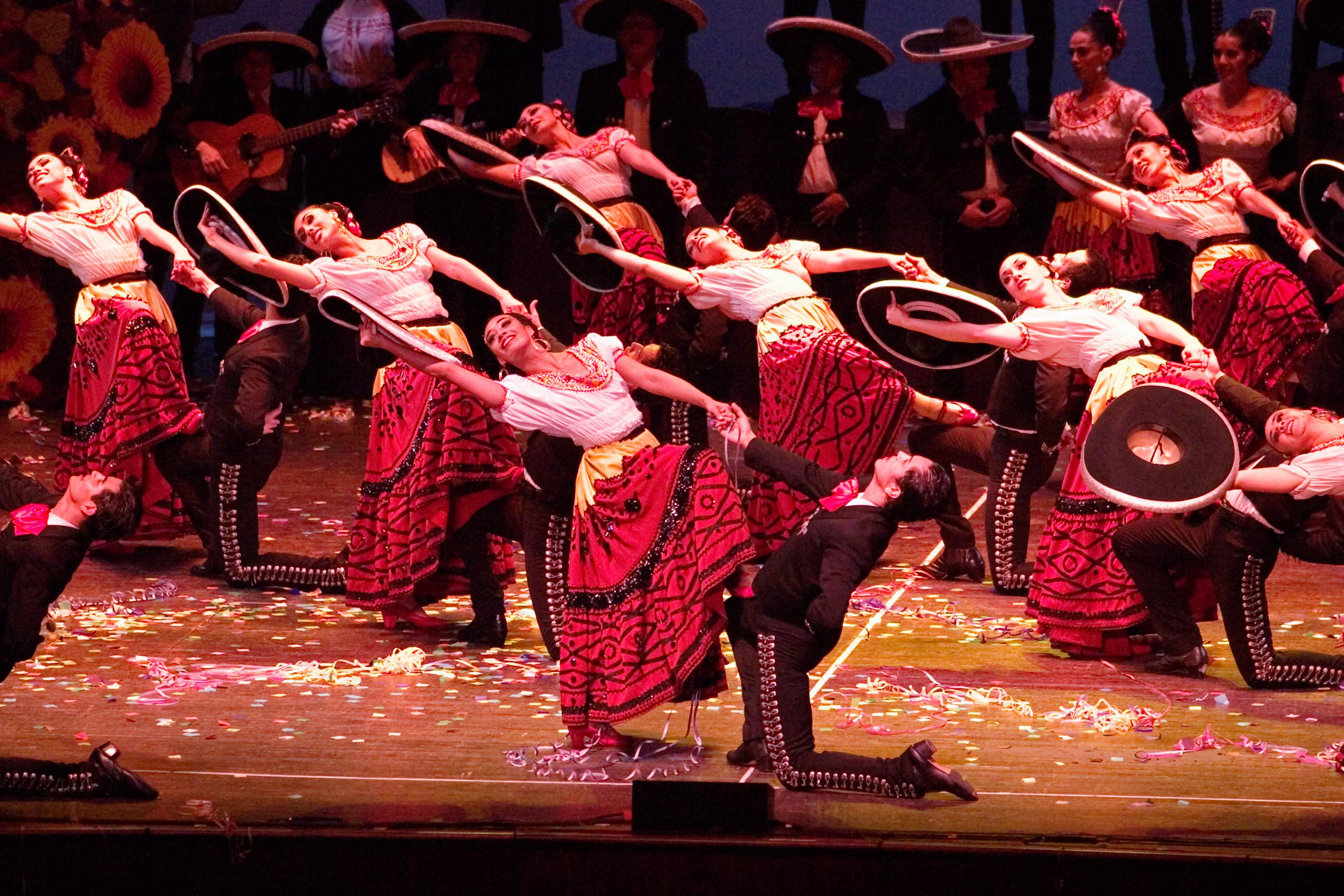 historia de la danza mexicana