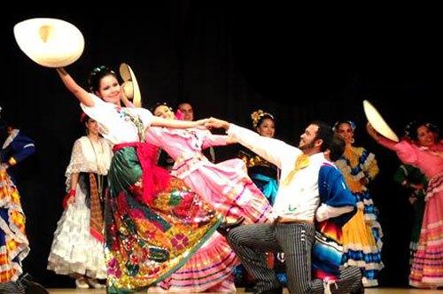 danza folclórica en México