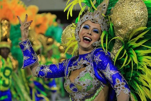 danza Samba de Brasil