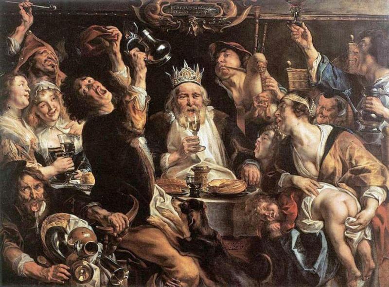 celebraciones en la edad media