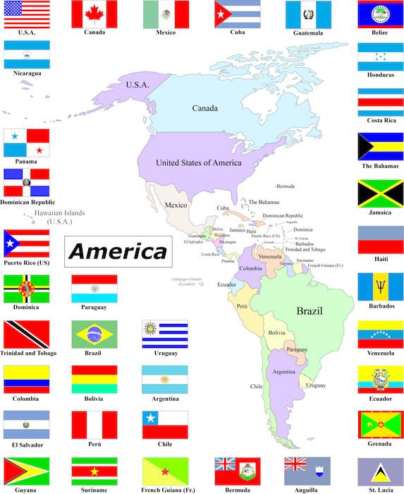 Historia de los símbolos patrios: Estados Unidos, Venezuela, y más.