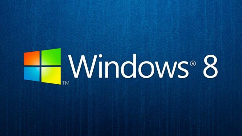 Historia de windows 8