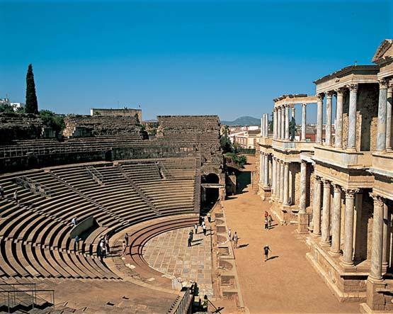 historia del teatro roma