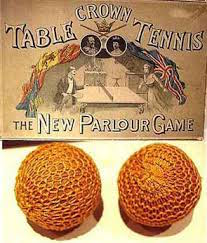 Bolas antiguas de ping-pong