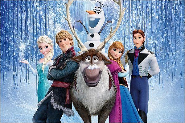 Elsa y sus personajes