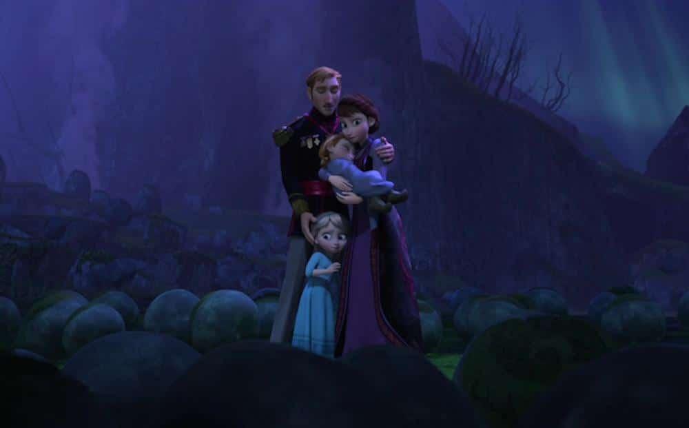 Padres de Elsa Anna
