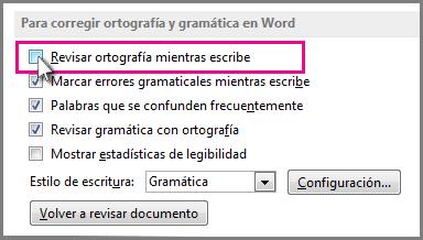errores gramatical