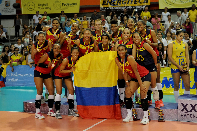 Historia del Voleibol en Colombia