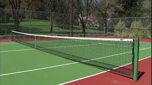 red para el tenis