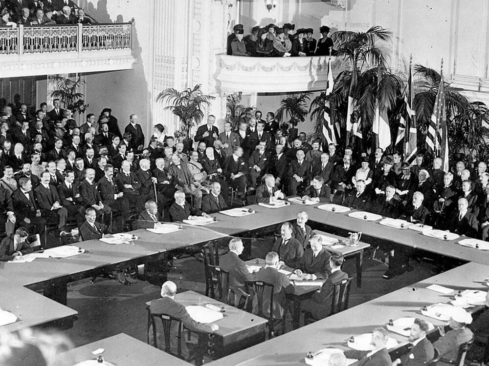Tratado Versalles 1919