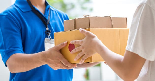 correspondencia paquete