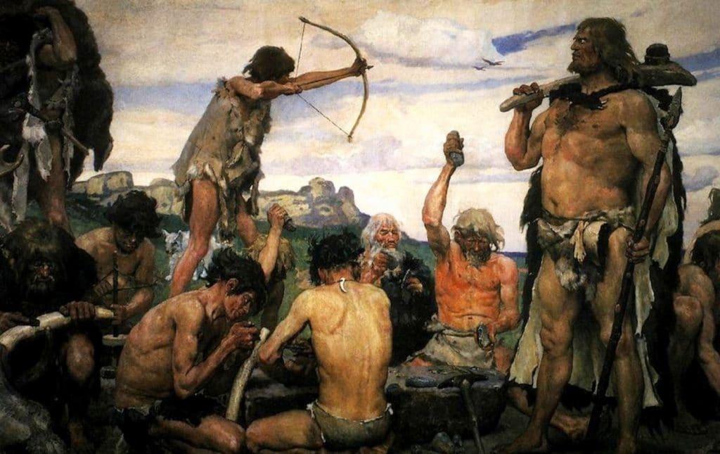 Como vivian los humanos en la prehistoria