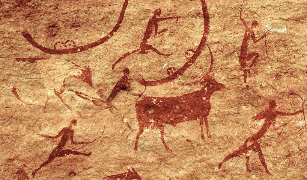 Como vivian los humanos en la prehistoria - arte